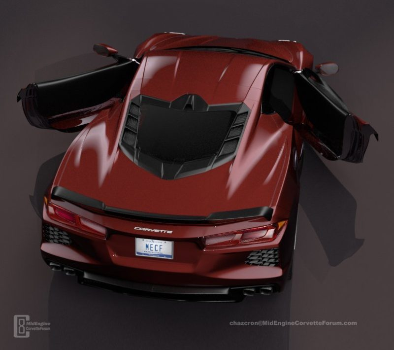 Mid Engine 2020 Corvette C8 Looks Good From All Angles In New